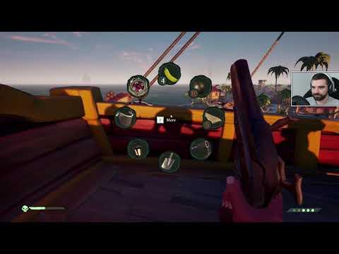 Sea of Thieves #6 – Pościg i WALKA! (Izak, Ewroon)