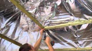 How To Insulate A Summerhouse Or Logcabin Timber Building Using Ecoquilt Expert Insulation