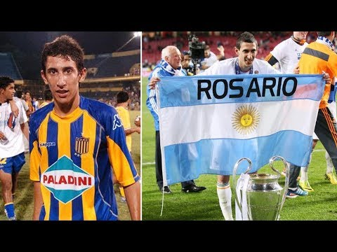 How football saved Di Maria's family from misery and homelessness - Oh My Goal