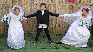 vuclip The Wedding of Sami pretend play funny  kids videos,les boys tv
