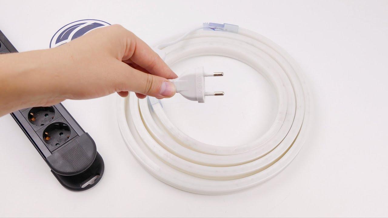 comment couper et monter une bande flexible de led lnf. Black Bedroom Furniture Sets. Home Design Ideas