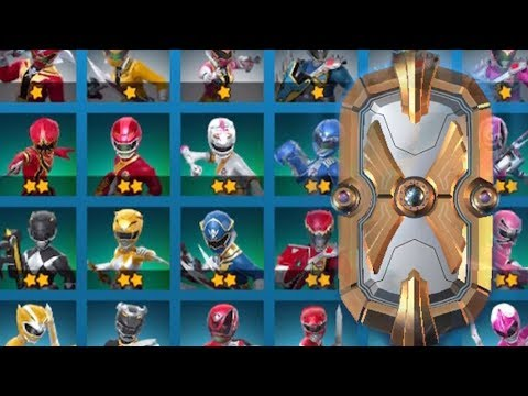 Power Rangers: All-Stars - 10x Ranger Summoning