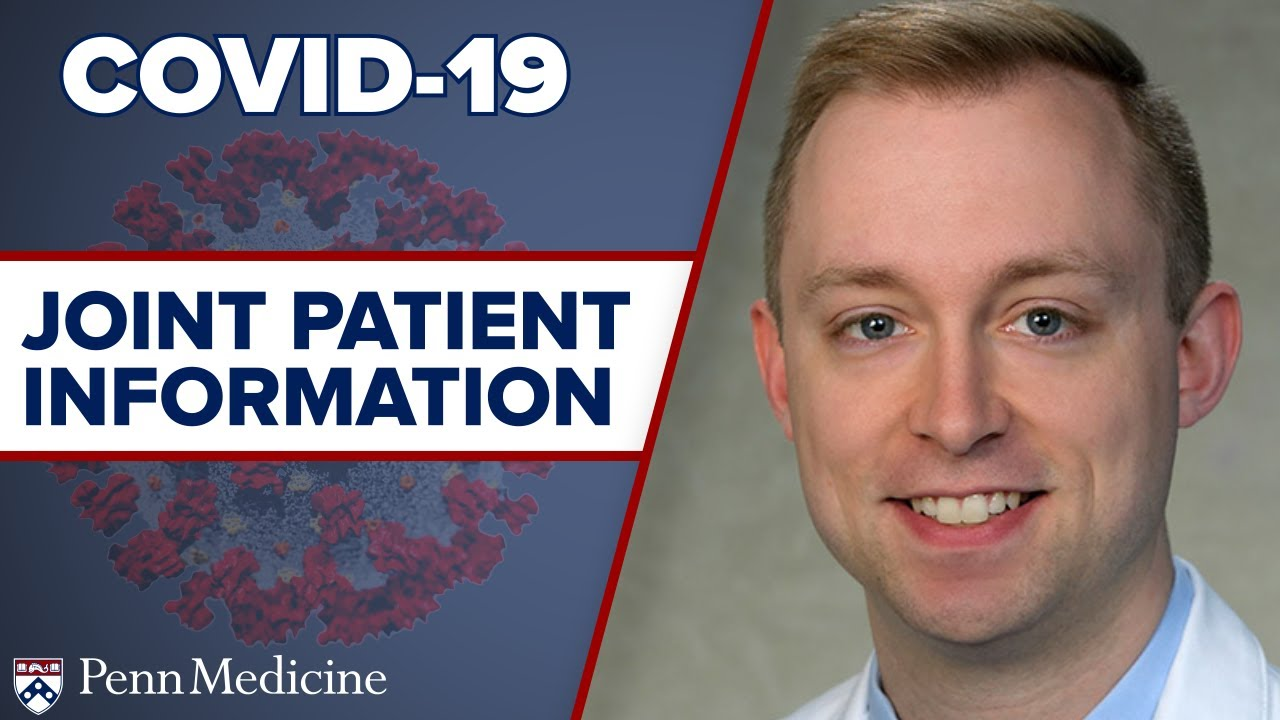 Download COVID-19: What Joint Pain Patients Should Know featuring Chris Travers, MD