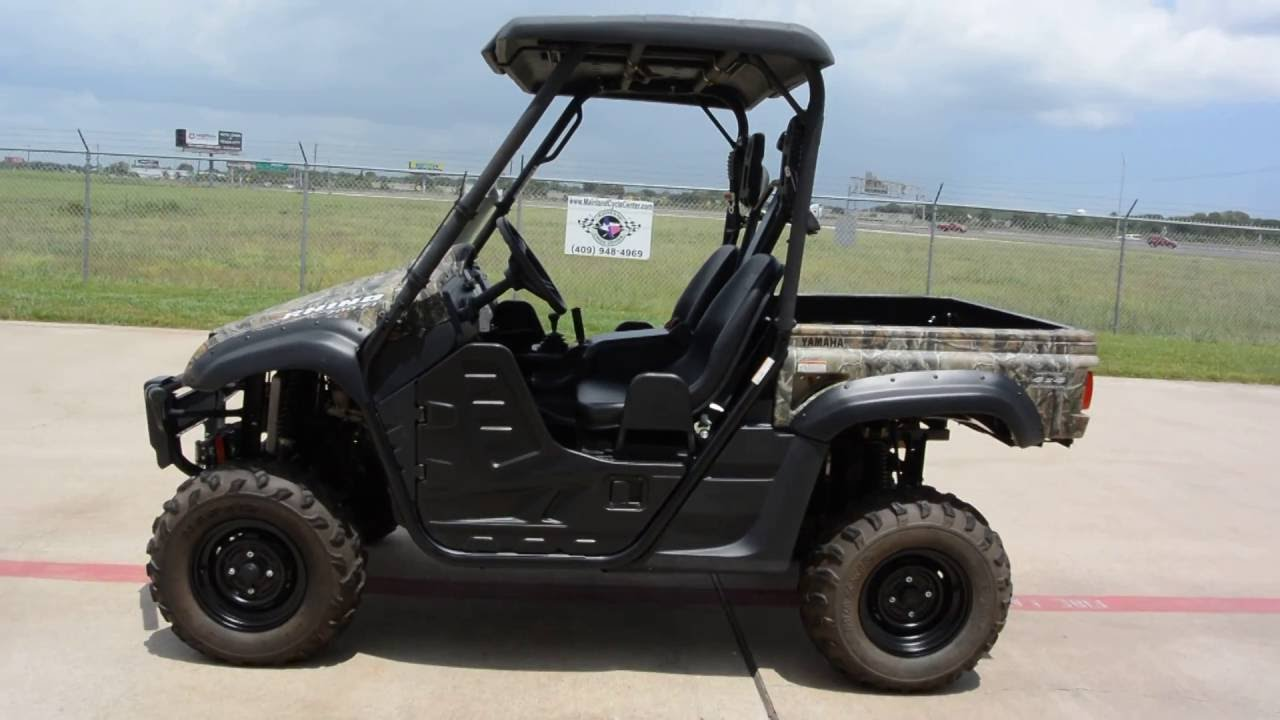 For sale 7 999 pre owned 2012 yamaha rhino 700 camo for Yamaha grizzly 700 for sale