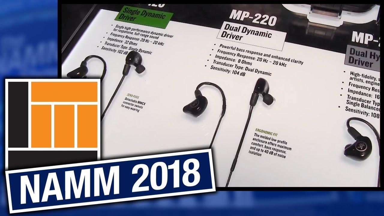 46f81a30e07 L&M @ NAMM 2018: Mackie In-Ear Monitors. Long & McQuade Musical Instruments