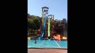 Magaluf western water park 2015  slide