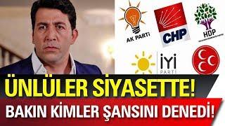 Ünlü Oyuncu Emre Kınay Belediye Başkan Adayı Oldu! Ünlüler Siyasette!