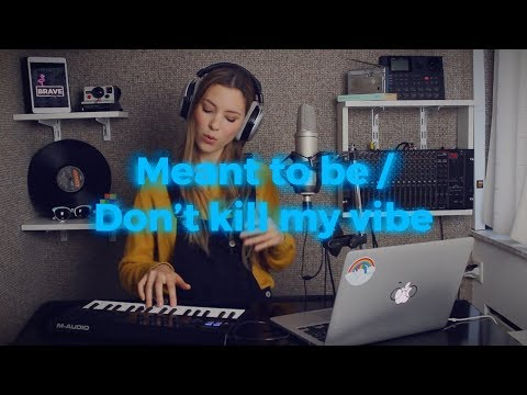Meant To Be / Don't Kill My Vibe MASHUP - Bebe Rexha, Sigrid | Romy Wave cover