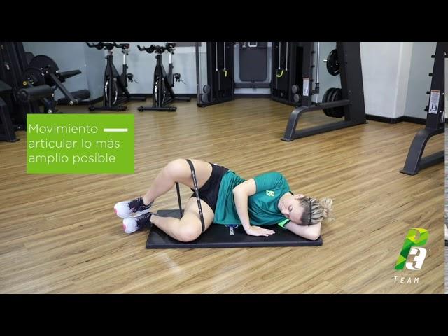Rotadores de cadera en posicion fetal
