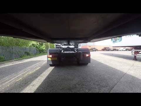 Coupling a Class 1 Trailer  HGV Vlogging #39
