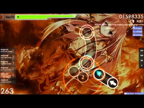 osu! Niko  Night of Fire Insane
