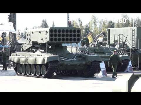армия 2017 выставка видео