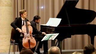 Manuel M Ponce, Estrellita (Arr. Gaspard Glaus) Lionel Cottet Cello, Jorge Viladoms Piano