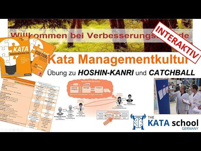 Gerd Aulinger - Kata Managementkultur Interaktive Übung Hoshin Kanri mit Catchball Prozess