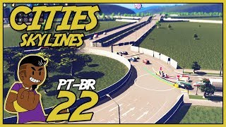 Cities Skylines PT BR Green Cities #022 - MOD TRAFFIC MANAGER! - Gameplay Português
