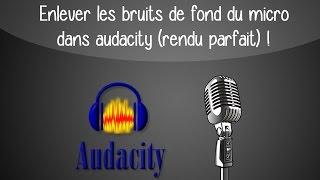 Enlever les bruits de fond du micro dans audacity (rendu parfait) !