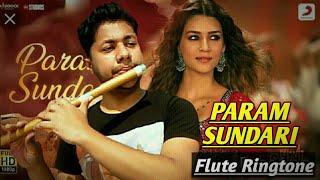 Param Sundari   Flute Ringtone Cover   @A. R. Rahman   Shreya Ghosal   Harish Mahapatra