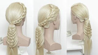 Braided Ponytail Tutorial For Long Hair