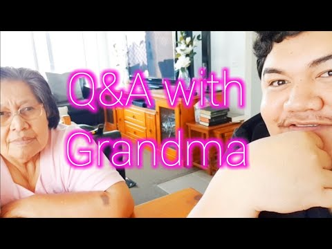 Q&A WITH A SAMOAN GRANDMA | Tokelau Language Week 2018 | Family History | Youtube Blessings 🇹🇰🏡