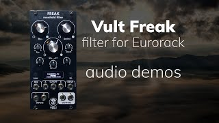 Vult Freak: Manifold Filter for Eurorack
