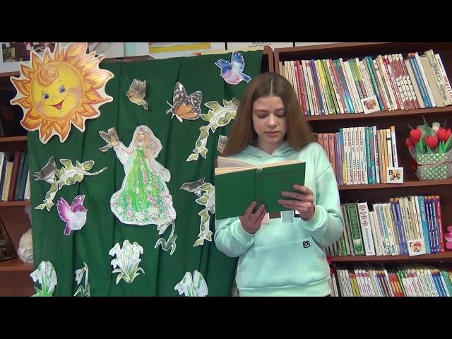 Изображение предпросмотра прочтения – ЛидияБугаёва читает произведение «Весна» А.Н.Толстого