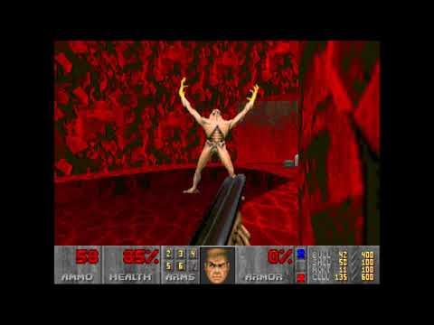 Doom 2 | Relentless Evil | Level 21: Inner Circle (Not Too Rough + Commentary)