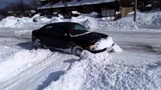 Slammed 300hp Audi A4 Quattro vs 15