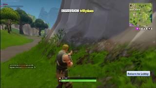 FORTNITE Battle Royale - Cheater report