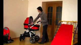 Обзор детской универсальной коляски Androx Fusee