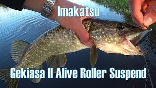 Gekiasa II Alive Roller 105SP. Вечерний клёв
