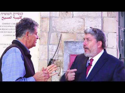 Sparks Fly As Rabbi Tovia Singer Slams Priest And Followers In Front Of Jerusalem Missionary Church!