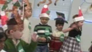 Holly Jolly Christmas-Challenger Middlefield Campus 4 year old preschool Winter Program 2008