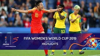 FIFA Women's World Cup | South Africa vs China | Highlights