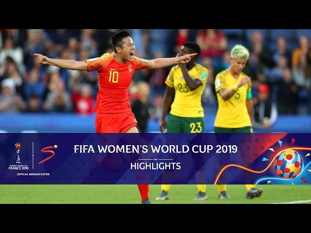 FIFA Women's World Cup   South Africa vs China   Highlights