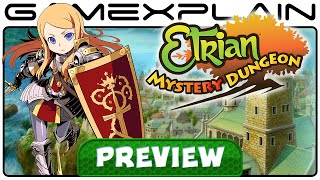 Etrian Mystery Dungeon - Video Preview (3DS)