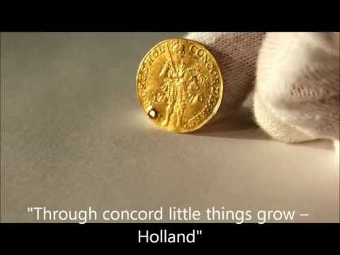 1770 gold ducat from the United Provinces of the Netherlands