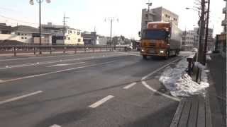 大型トラック truck 日本通運 Nippon Express いすゞ ISUZU