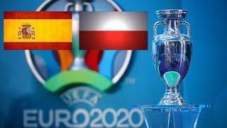 Футбол Чемпионат Европы Прямая трансляция Испания Польша