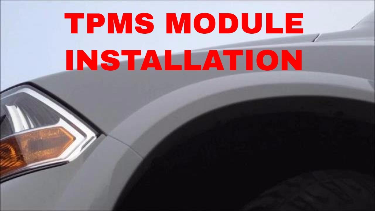 2015 Dodge Ram Trailer Wiring 2009 2012 Dodge Ram Tire Pressure Module Installation