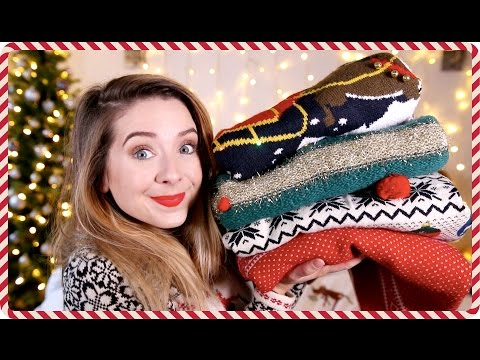 Christmas Jumper Haul   Zoella