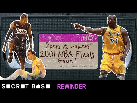 Allen Iverson stepping over Tyronn Lue in the NBA Finals requires a deep rewind | 2001 76ers-Lakers