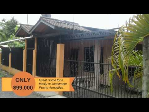 Great Family Home or Investment - Puerto Armuelles, Panama