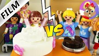 Playmobil Film polski   KONKURS PIECZENIA Hania vs Basia   Kto zrobi smaczniejsze ciasto?   Serial