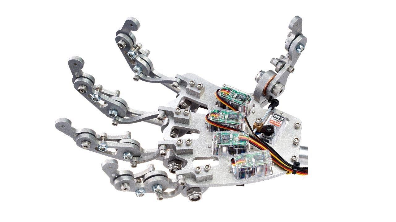 Mecha Model S Robot Hand Demonstration Video