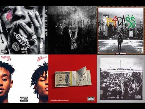 My 25 Favorite Rap Albums of 2015
