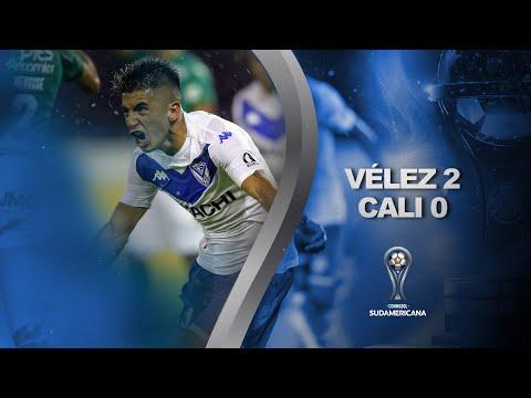 Velez Sarsfield Deportivo Cali Goals And Highlights