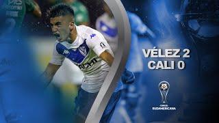 Vélez Sarsfield vs. Deportivo Cali [2-0] | RESUMEN | Octavos de Final | CONMEBOL Sudamericana