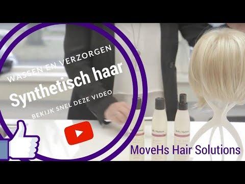 Het wassen en verzorgen van synthetisch haar