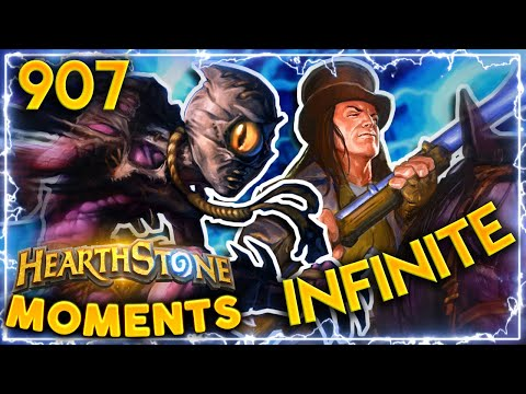 INFINITE DAMAGE COMBO IN ARENA  Hearthstone Daily Moments Ep907