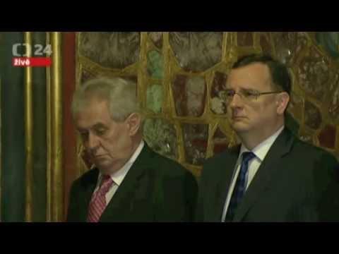 Becherovka Zemond - Miloš Zeman - Korunovační klenoty